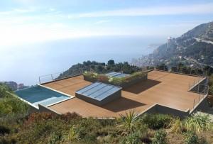 -Villa d'habitation à Roquebrune-Cap-Martin